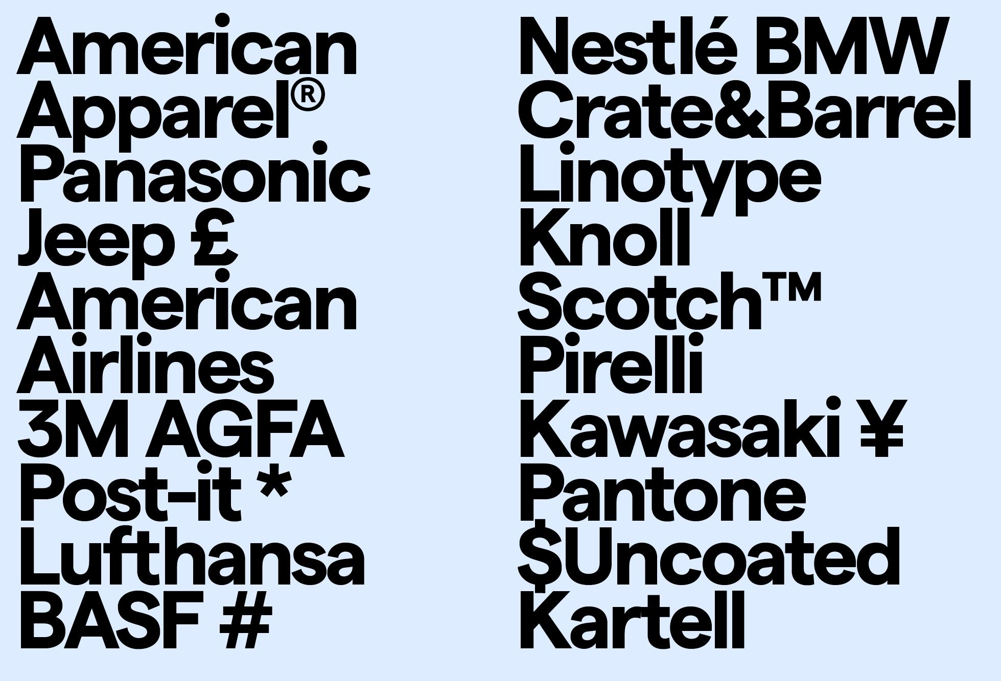 Matter &Matter SQ Bold (Brands)
