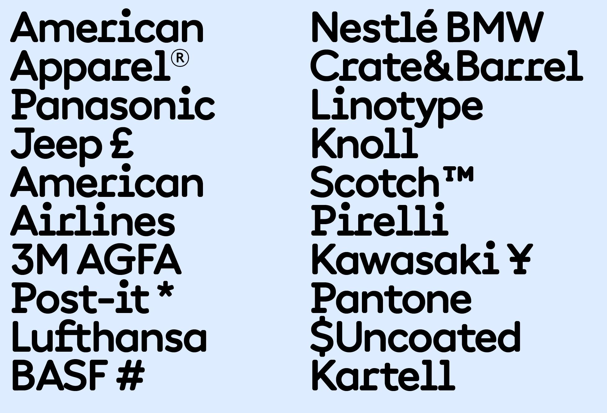 Documan Bold (brands)