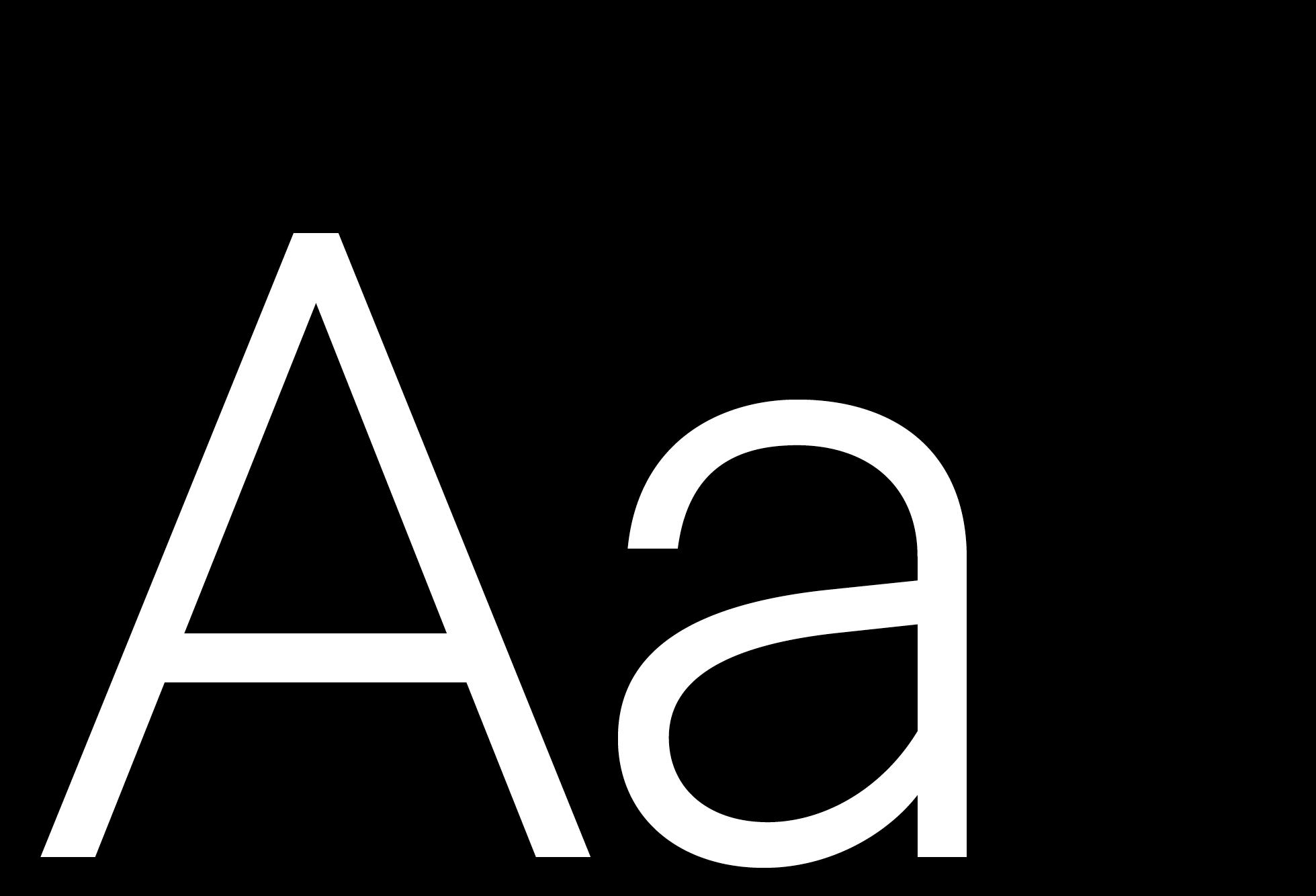Museet Sans (Selected glyphs)