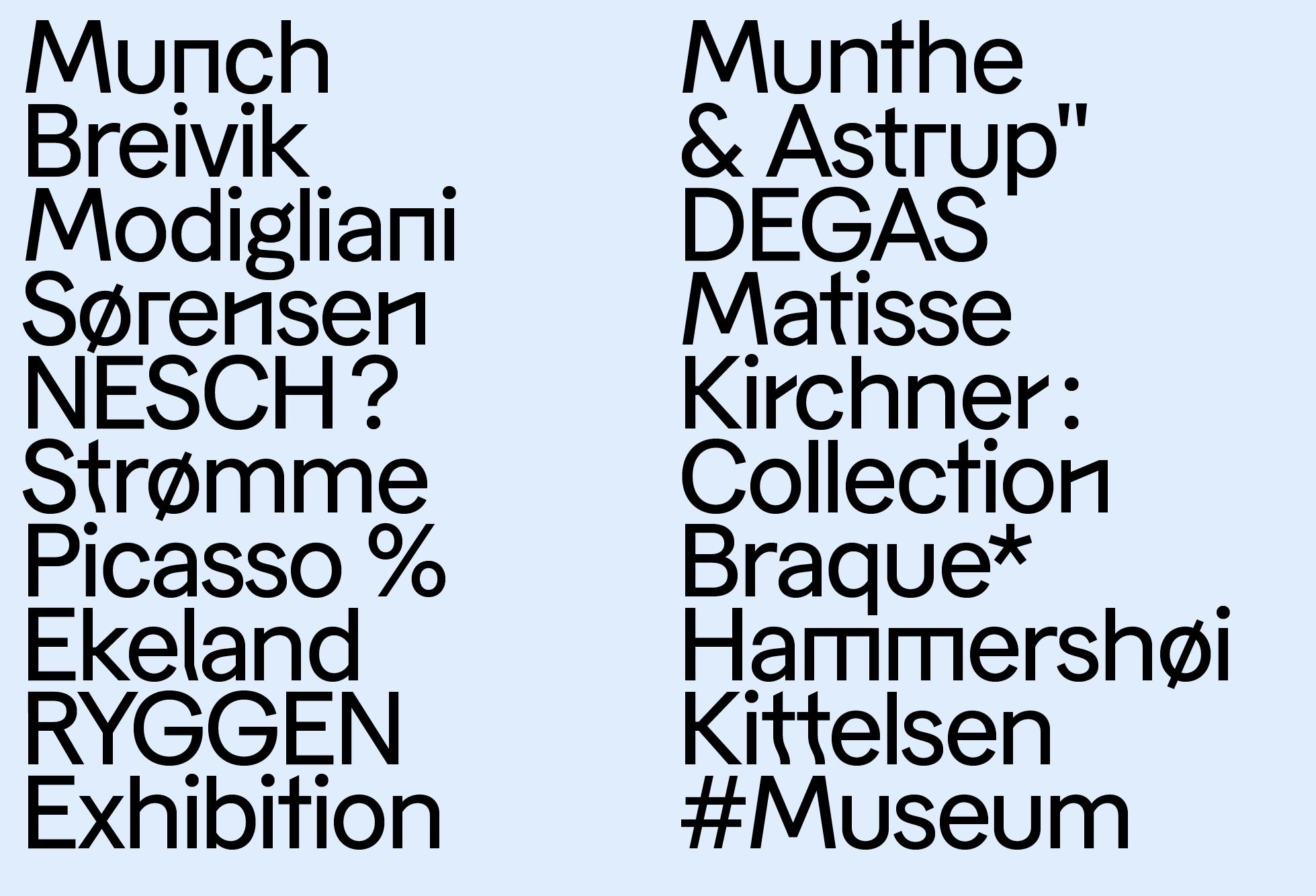 Museet Sans Medium (Artists)