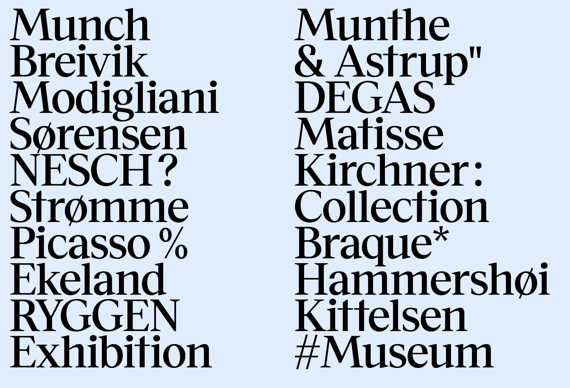 Museet Serif Medium (Artists)