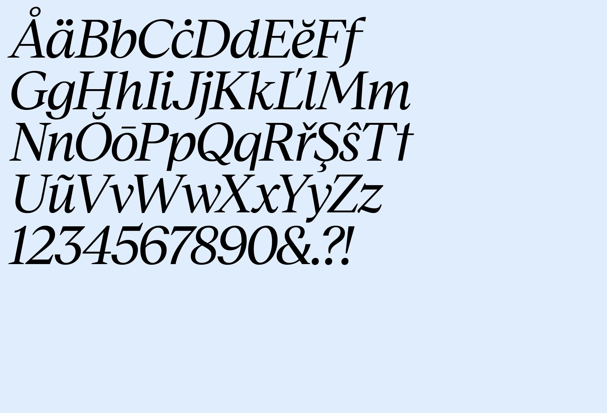 Museet Serif Regular Italic (Basic Latin)